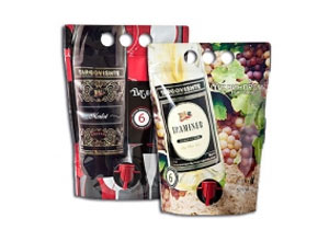 Авангардна и единствена по рода си в България опаковка за вино