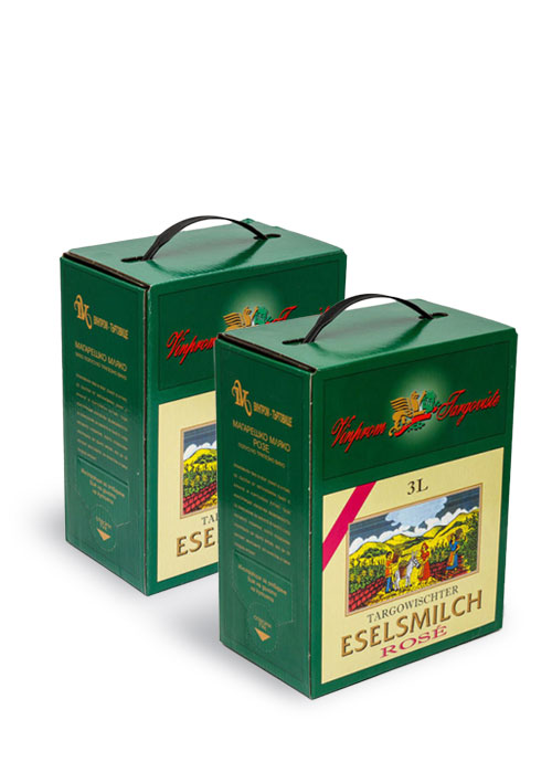 Eselsmilch series-Bag in Box