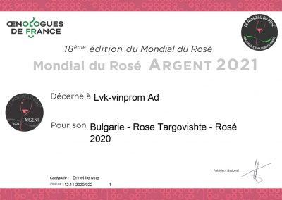 Mondial du Rosé® 2021